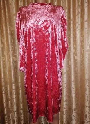 🎀🎀🎀новое бархатное, велюровое женское короткое платье, туника 20 р. redherring🔥🔥🔥