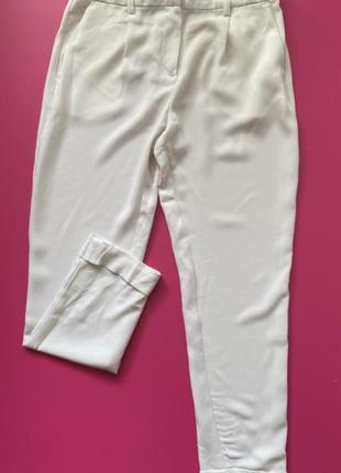 Штаны moss copenhagen,белые штаны,датский бренд,штаны классика ,брюки
