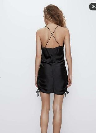 Платье в бельевом стиле zara