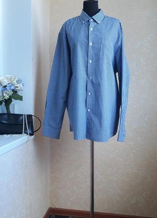 Стильная рубашка в клетку authentic design