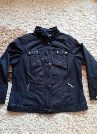 Модная демисезонная куртка пиджак yessica