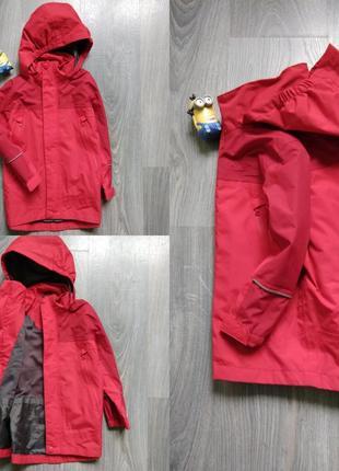 3-4г ветровка парка мембранная куртка