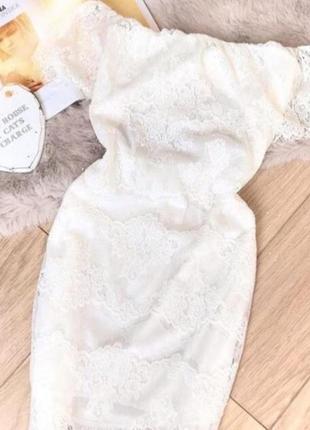 Нежное вечернее платье♡