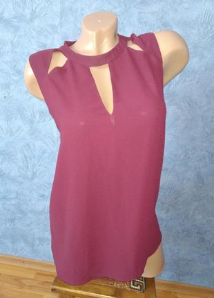Трендовая шифоновая блуза с чокером