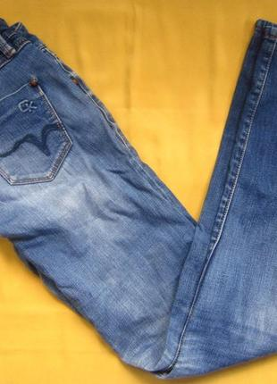 Стильные фирменные джинсы штаны, ск, на худышку