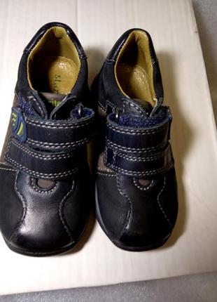 Туфли кроссовки start-rite england  21-22 размер uk 4,5.f  супер кожа!
