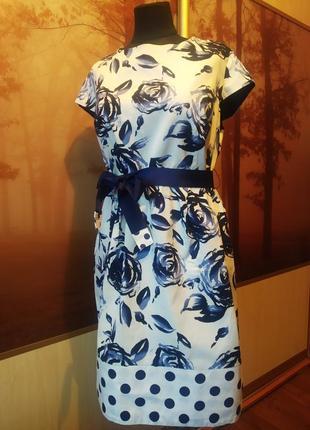Яркое платье от dadash