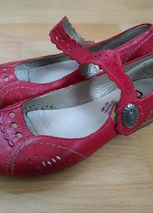 37 р.. rieker кожаные туфли