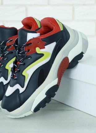 Высокие женские кроссовки ash в стильном дизайне (весна-лето-осень)😍
