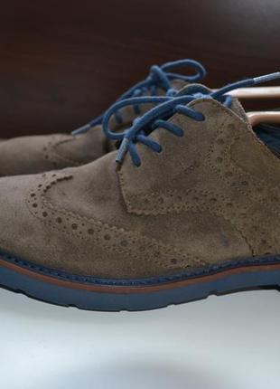 Geox respira 39р туфли оксфорды кожаные.