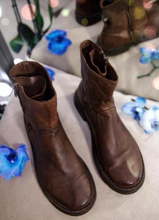 Италия брендовые натуральные кожаные челси ботинки демисезонные берцы ботильоны