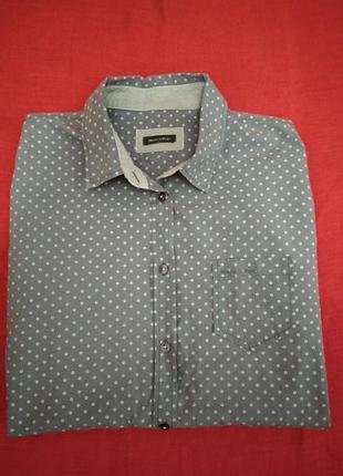 Стильная рубашка, сорочка с длинным рукавом marc o'polo