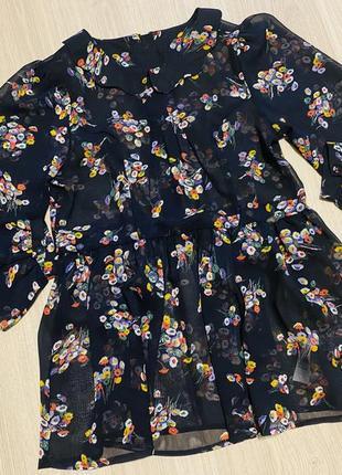 Блуза в цветочный принт new look