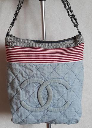 Женская сумка джинсовая. сумка летняя.