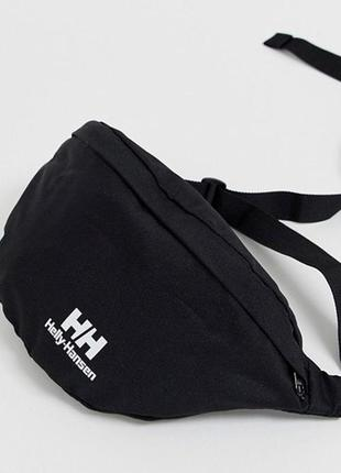 Сумка на пояс на плече бананка helly hansen bum bag унісекс барсетка nike