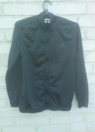 Подростковая спортивная кофта, ветровка, олимпийка adidas оригинал