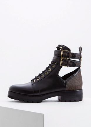 Кожаные ботинки michael kors