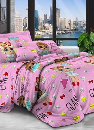 Кукла лол, постельное белье для девочек