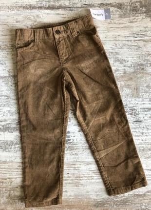 Вельветовые штаны carter's 4 года