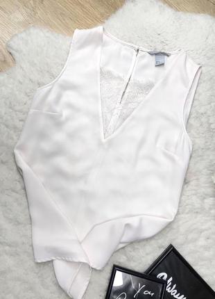 Майка кружевная блуза