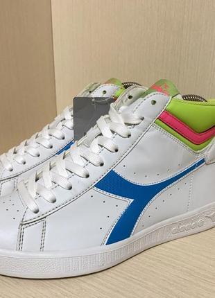 Diadora, оригинал фирменные стильные женски кроссовки, кеды