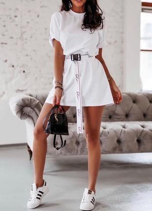 Платье -футболка ❤️