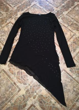 Кофточка, блуза, сетка, размер 48