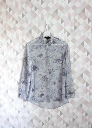 Блуза, райский принт