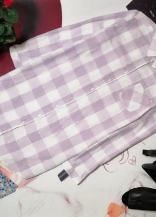 Халат-рубашка f&f, 100% хлопок, размер 12/14