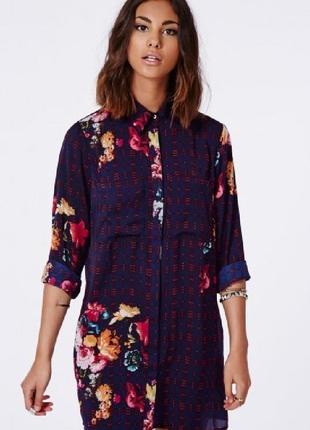 Красивое тонкое платье -халат фирмы missguided