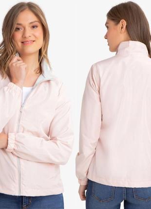Пудровая ветровка us polo assn курточка розовая куртка