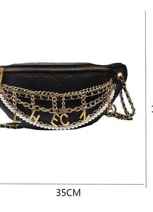 Сумка chanel, поясная сумка