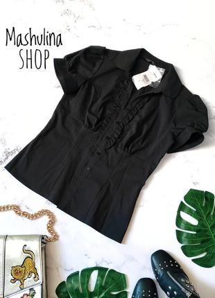 Новая черная блузочка фирмы f&f
