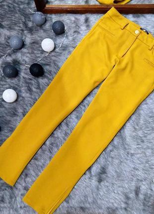 #розвантажуюсь брюки штаны дудочки трендового желто-горчичного оттенка