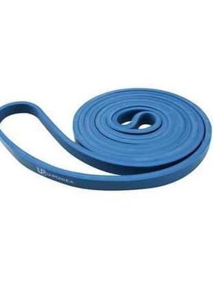 Синяя спортивная фитнес резинка петля эспандер для домашних тренировок