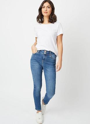 Трендовые джинсы скинни с высокой посадкой размер 18