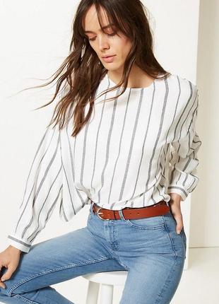 Блузка рубашка m&s