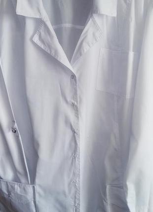 Белый халат 64 размера