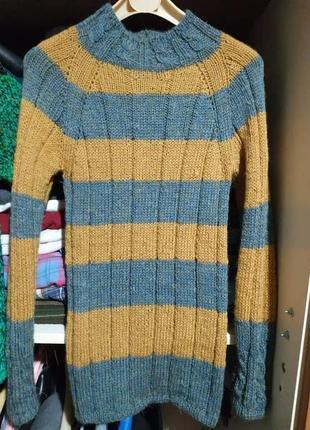 Вязанный свитер женский 44-46