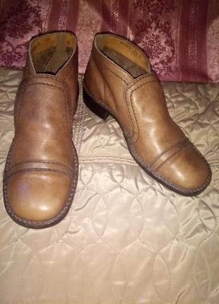 Ботинки,туфли manz 41р,41.5р германия