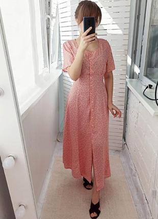 💗  платье в мелкий цветочный принт💗