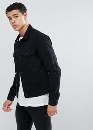Джинсовка из последних коллекций new look mens ® jacket (размер : s)