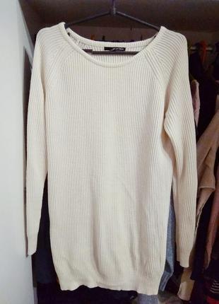 Длинный свитер туника tally weijl l ка