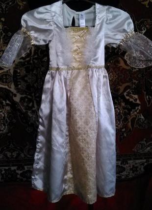 Платье карнавальное,3-4года,рост8 98-104см