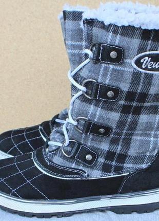 Зимние ботинки venice замша германия 38р