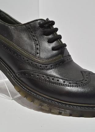 Скидка !!! tiflani кожаные туфли для мальчика р.37, 38, 39, 40