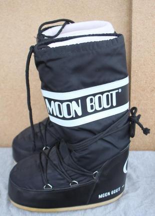 Ботинки moon boot tecnica оригинал дутики зимние 39-41р непромокаемые