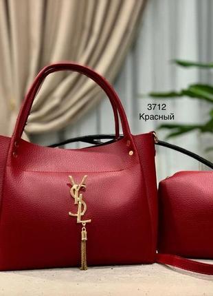 Женская сумка экокожа комплект (арт.л807)