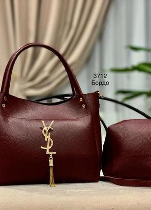 Женская сумка экокожа комплект (арт.л812)