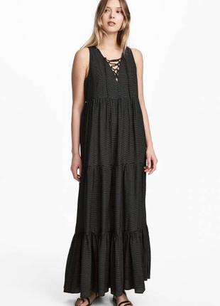 Платье в полоску h&m,p.m